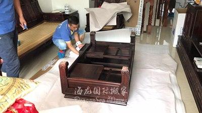广州海运家具到新西兰流程是怎样的?红木家具怎么包装?