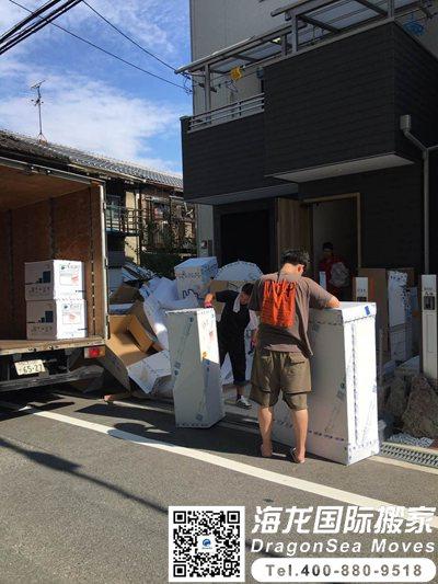 深圳搬家到日本怎么搬?新家具可以搬吗?
