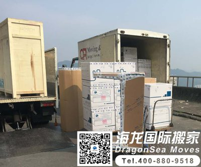 有人从深圳门到门海运家具到台湾吗?过程怎样?