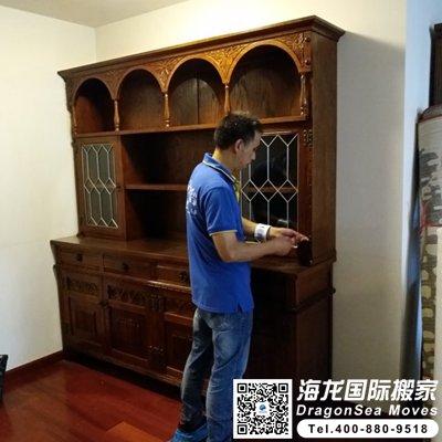 大件家具从广州海运到法国怎么操作?