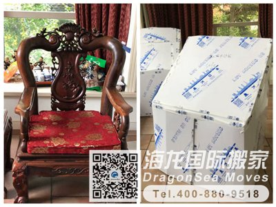 真實案例分享:上海移民搬家到美國圣地亞哥都是如何進行搬家的?