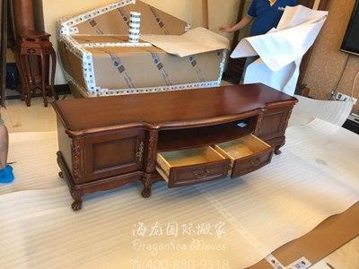 北京海运旧家具到西班牙