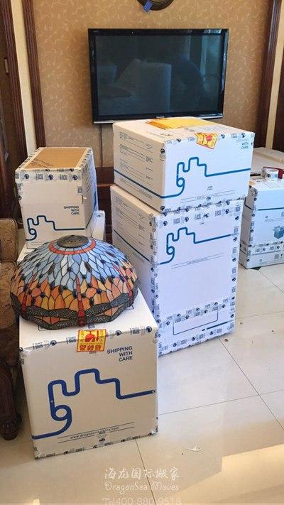 北京门到门海运旧家具到西班牙