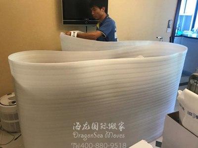 北京海运家具到西班牙