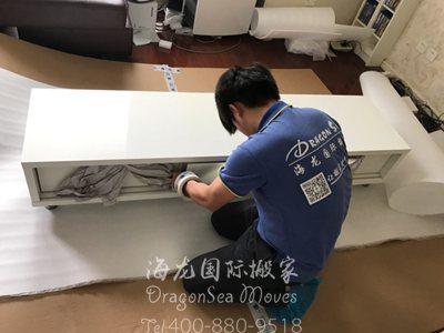 广州海运家具到美国流程