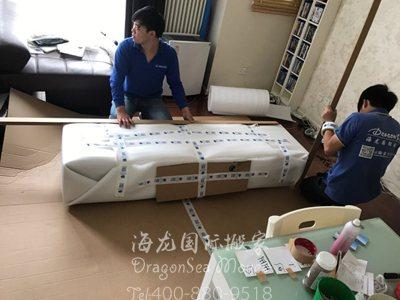 广州海运家具到美国操作