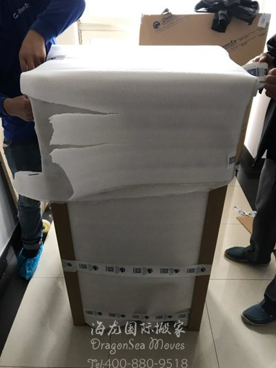 广州国际海运家具到美国