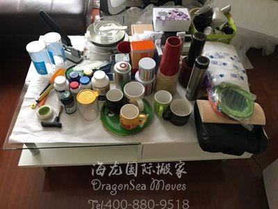 广州跨国海运家具到美国