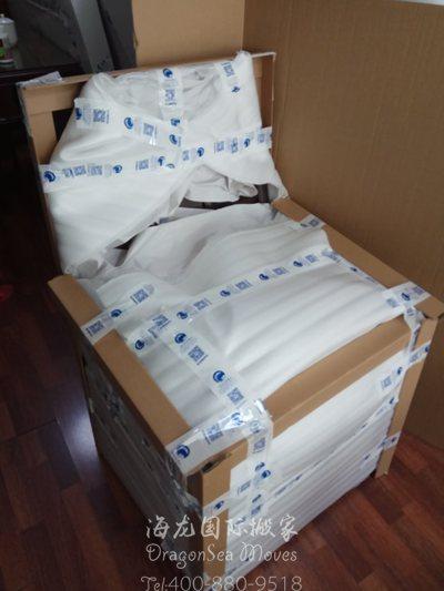 怎么广州往美国门到门跨国搬运私人物品