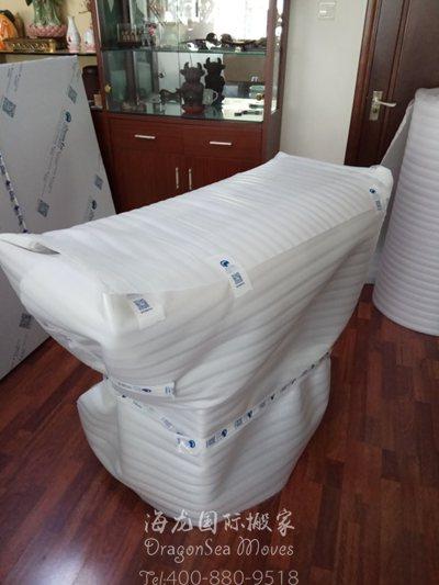 广州往美国门到门跨国搬运私人物品国际搬家公司