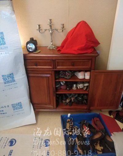 从上海往澳大利亚门到门海运私人物品
