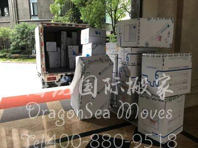 广州海运旧家具到台湾操作流程