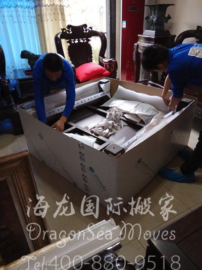 深圳海运旧家具到法国操作流程