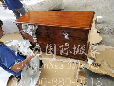 上海家具搬到英国运费多少