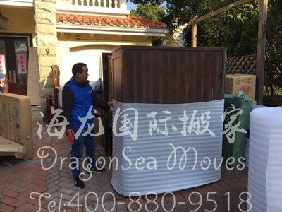 深圳越洋海运旧家具到日本
