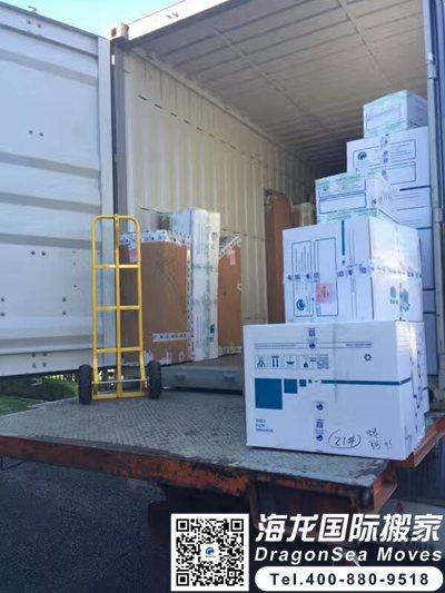 国际运输家具到加拿大