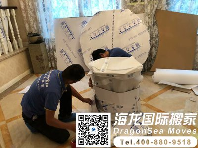 上海海运新加坡家具要怎么打包才能让人放心?