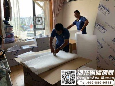 广州海运门到门家具到新加坡