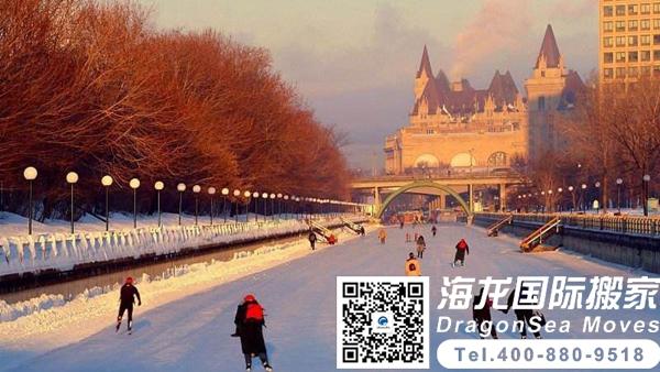 加拿大搬家到中国