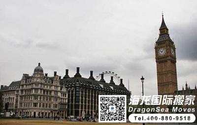 英国海运家具到中国