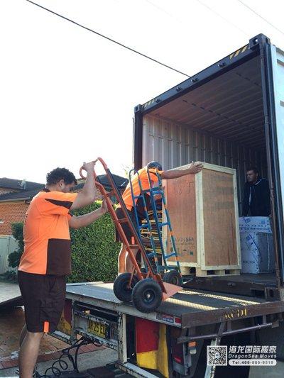 上海市私人物品运输到澳大利亚