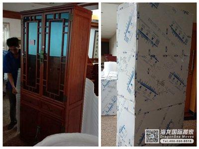 上海国际搬家物流到美国