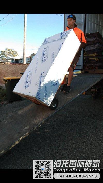 广州市移民海运物品到新西兰