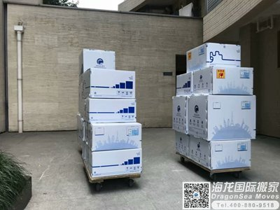 英国家具海运回国到北京