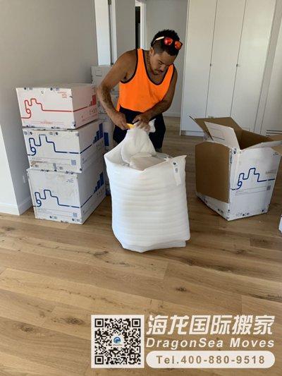 上海市海运搬家到美国