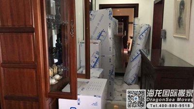 德国行李海运回国到北京