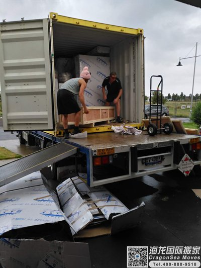 佛山市移民海运物品到德国